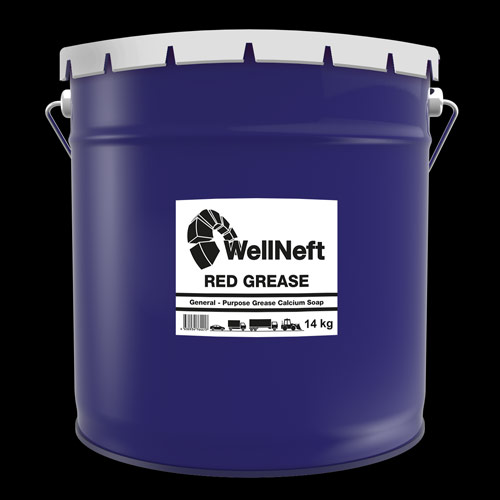 Wellneft W-Grease Red Grease