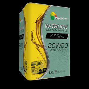 Wellneft W-Truck X-Drive 20W50 CF-4/CF/SL Engine Oil